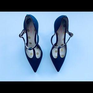 Navy blue Boden women's shoes size 36.5